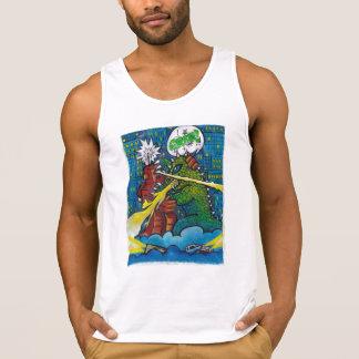 Camiseta De Tirantes tecnología contra la naturaleza (color)
