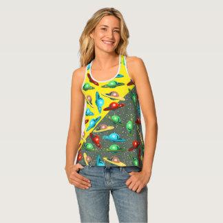 Camiseta De Tirantes TONO del UFO 2 de los PLATILLOS VOLANTES por