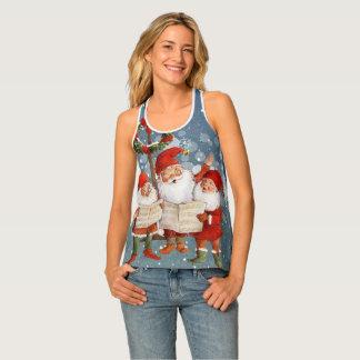 Camiseta De Tirantes Trío de los duendes del canto