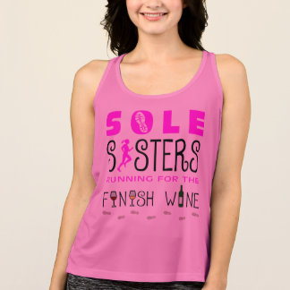Camiseta De Tirantes Único vino del final de las hermanas - todo el