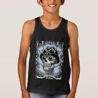 Camiseta De Tirantes Vapor Skullabee