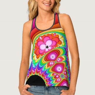 Camiseta De Tirantes Viaje maravilloso del fractal