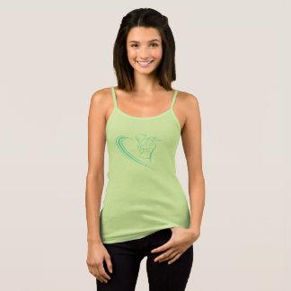 Camiseta De Tirantes Voleo femenino del jugador de tenis