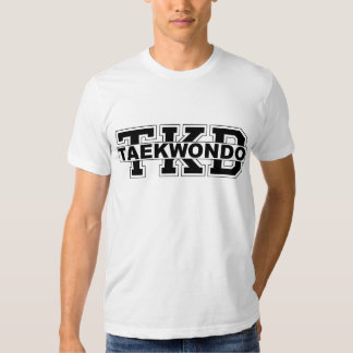 Camiseta de TKD el Taekwondo