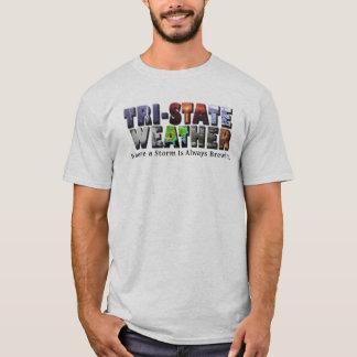 Camiseta de triple estado del logotipo