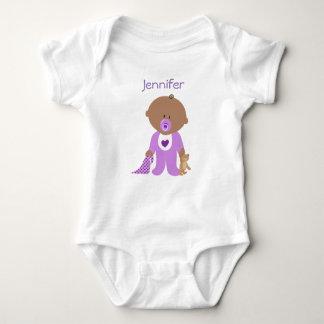 Camiseta de una pieza personalizada con el nombre