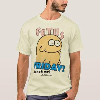 Camiseta de viernes del feto