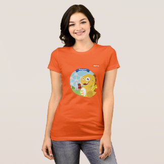 Camiseta de VIPKID Bélgica (naranja)