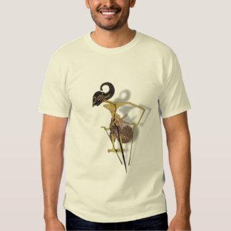 Camiseta de Wayang Arjuna natural