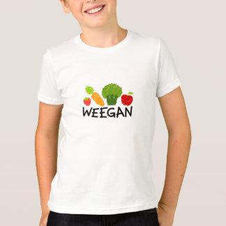 Camiseta de Weegan de los niños - luz