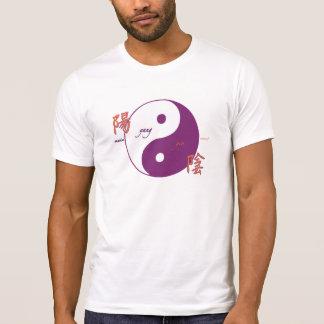 Camiseta de Yin y de Yang
