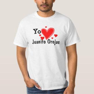 Camiseta de Yo Amo Juanito Orejas