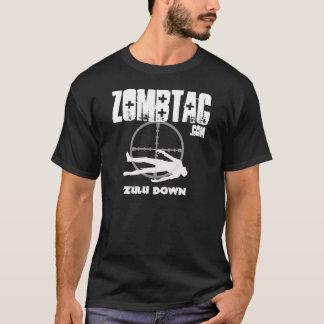 Camiseta De Zombtac del Zulú oscuridad abajo