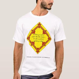Camiseta Debajo de la falda escocesa