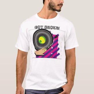 Camiseta ¡decks203, CONSEGUIDO CUBIERTAS!