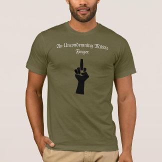 Camiseta Dedo medio T de Uncondmening con la cita de Adorno