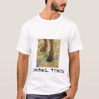 Camiseta Dedos del pie del camello
