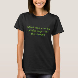 Camiseta Dedos medios