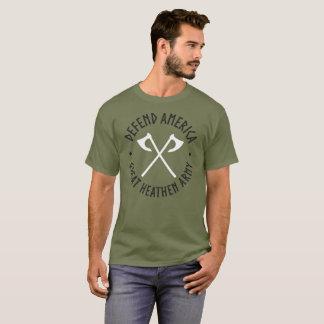 Camiseta Defienda al gran ejército pagano de América el |