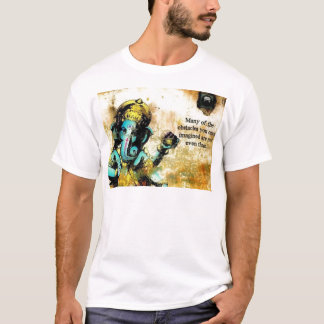 Camiseta Deidad hindú del elefante asiático de Ganesh