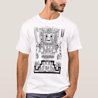Camiseta Deidad Perú antiguo Tiwanaku de Viracocha Sun del