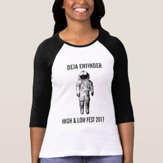 Camiseta Deja Fest alto y bajo 2017 de Entinder