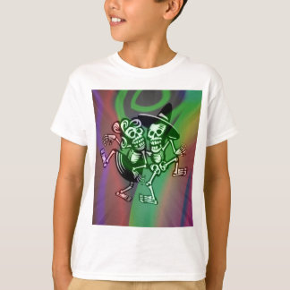 Camiseta deja la danza colorida