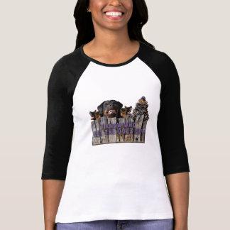 Camiseta ¡Deje los perros hacia fuera!