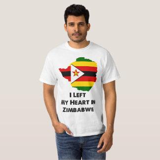 Camiseta Dejé mi corazón en Zimbabwe