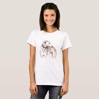 Camiseta del acechador del galgo