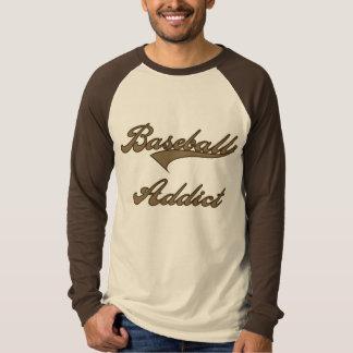 Camiseta del adicto al béisbol de Brown