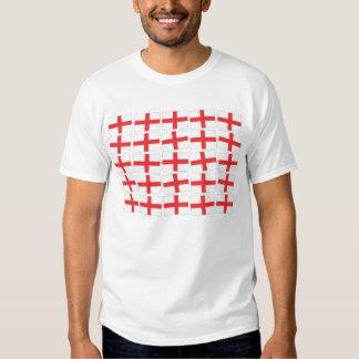 Camiseta del adulto de la bandera de Inglaterra