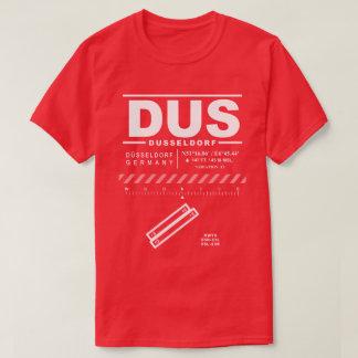 Camiseta del aeropuerto DUS de Düsseldorf