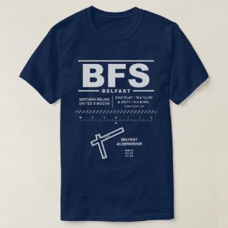 Camiseta del aeropuerto internacional BFS de