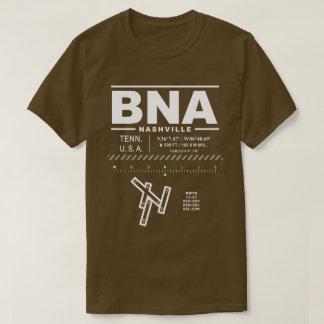 Camiseta del aeropuerto internacional BNA de