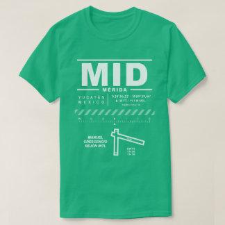 Camiseta del aeropuerto internacional de Mérida