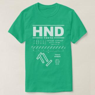 Camiseta del aeropuerto internacional HND de Tokio