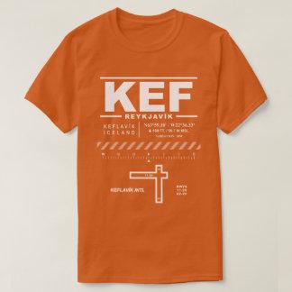 Camiseta del aeropuerto internacional KEF de