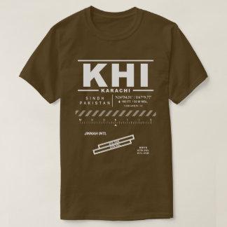 Camiseta del aeropuerto internacional KHI de