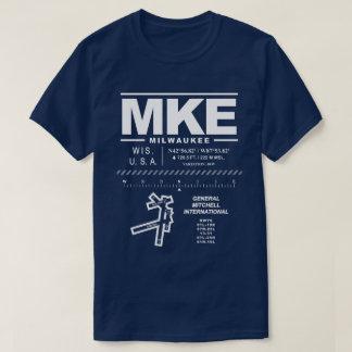 Camiseta del aeropuerto internacional MKE de