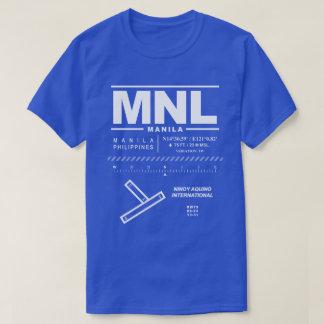 Camiseta del aeropuerto internacional MNL de