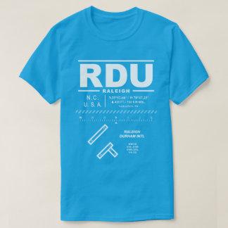 Camiseta del aeropuerto internacional RDU de