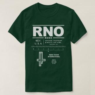 Camiseta del aeropuerto internacional RNO de Reno