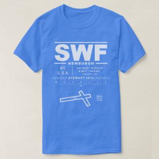 Camiseta del aeropuerto internacional SWF de