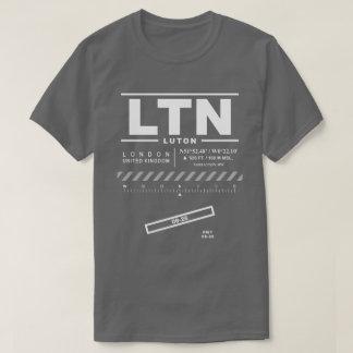 Camiseta del aeropuerto LTN de Londres Luton