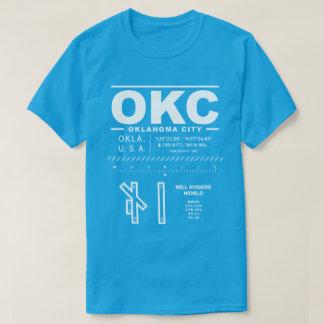 Camiseta del aeropuerto OKC del mundo de Rogers