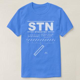 Camiseta del aeropuerto STN de Londres Standsted