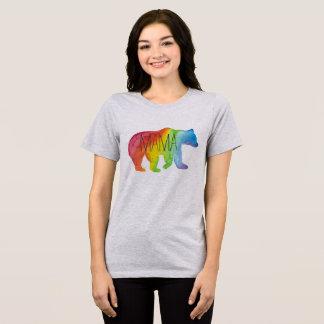 Camiseta del ajuste cómodo de mamá Bear Family