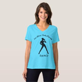 Camiseta del amante de la danza