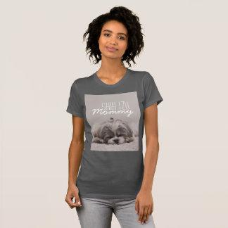 Camiseta del amante del perro de la mamá de Shih